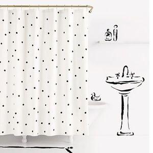 NWT Kate Spade Deco Dot Curtain Shower